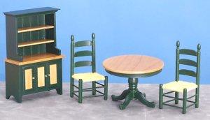 Dollhouse Diningroom Furniture From Fingertip Fantasies