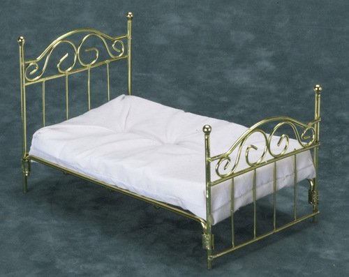 Dollhouse Brass Beds In 1 Quot Scale From Fingertip Fantasies