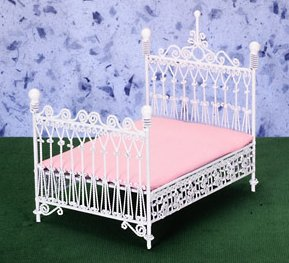White Wire Bedroom Furniture 1 12 Scale Page 1 From