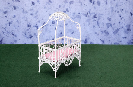 Wicker Baby Furniture From Fingertip Fantasies Dollhouse